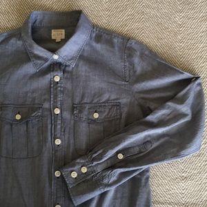 "J.Crew Chambray ""The Perfect Shirt"""